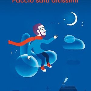 Copertina di Faccio salti altissimi di Iacopo Melio