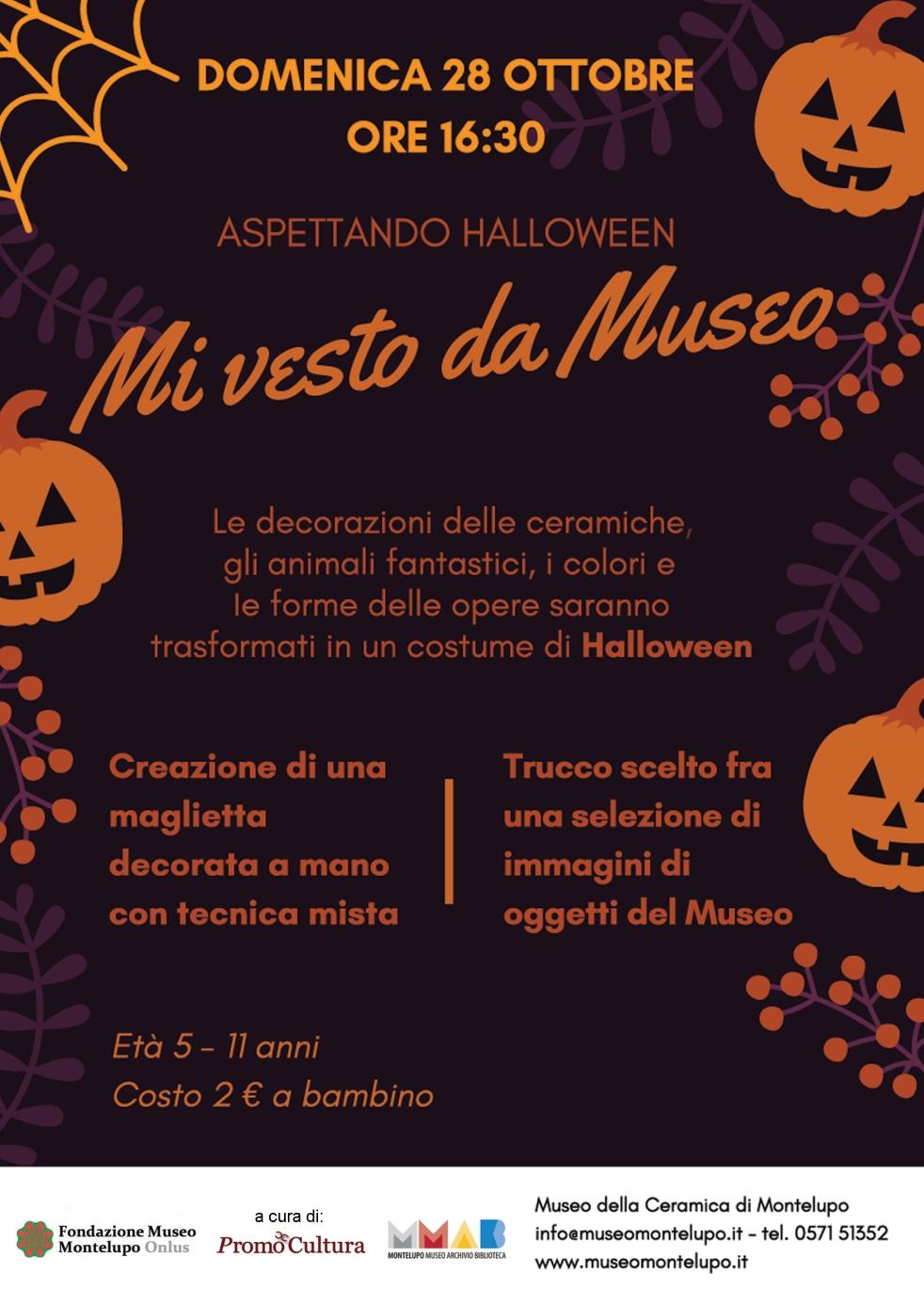 Halloween al Museo della Ceramica domenica 28 ottobre 2018