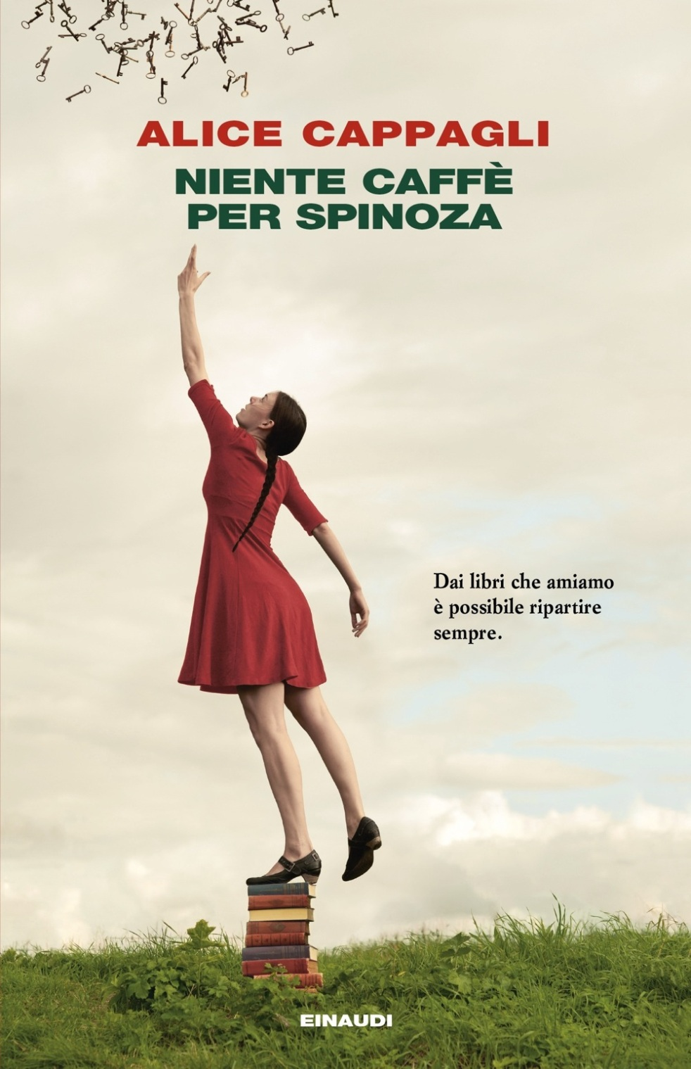 copertina del libro Niente caffè per Spinoza