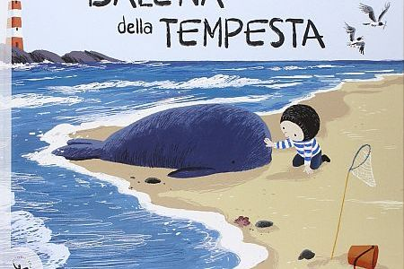Copertina del libro La balena della tempesta