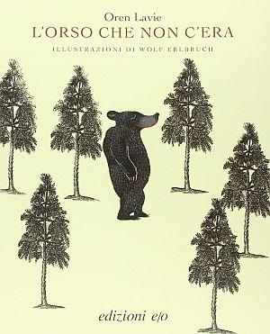 Copertina del libro L'orso che non c'era