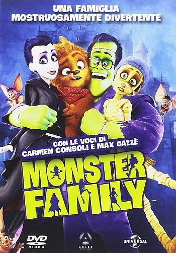 Locandina del film Monster Family
