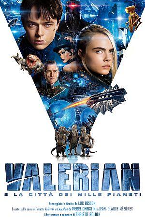 Locandina del film Valerian e la città dei mille pianeti