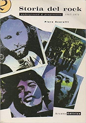 Copertina libro Storia del rock - 1967-1973