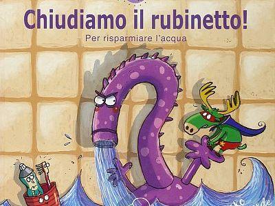 Copertina del libro Chiudiamo il rubinetto