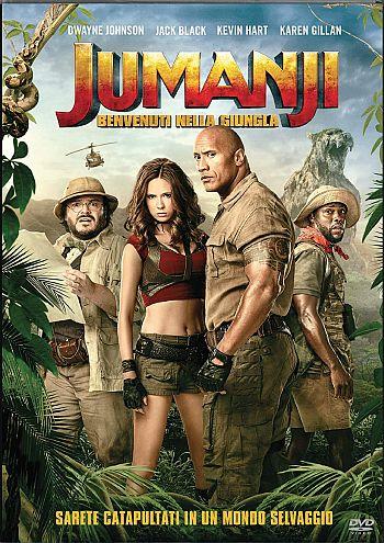 Locandina del dvd Jumanji