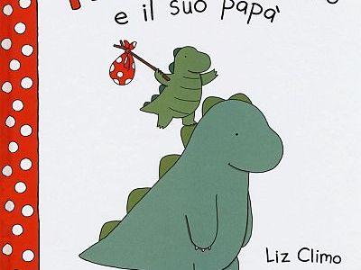 Copertina del libro Rory il dinosauro e il suo papà